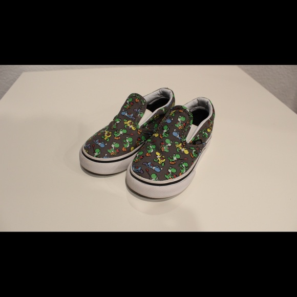 Other - Super Mario Yoshi Toddler Vans Shoes LIKE NEW